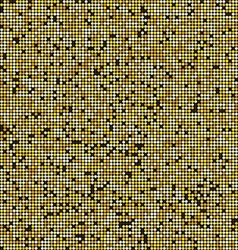 Gold glitter style background 2009 vector