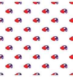 Headphones pattern cartoon style vector image