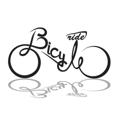 Bicycle image vector