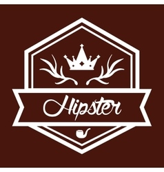 Hipster retro and vintage vector