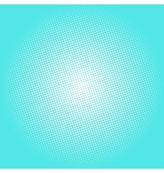 Dots on azure background pop art background vector