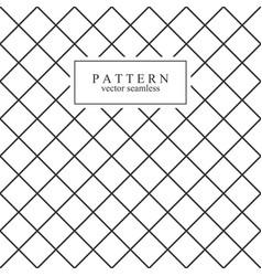 Grid minimal seamless pattern vector