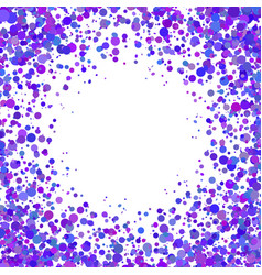 Abstract background with falling blue purple vector