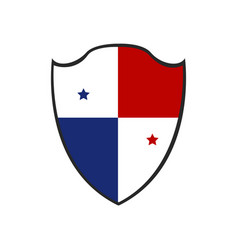 Isolated badge of panama vector