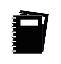note book isolated vector image vector image