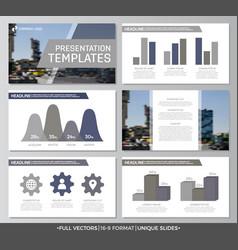 Set of gray elements for multipurpose presentation vector