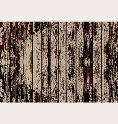 Texture of realistic beige old painted wooden vector