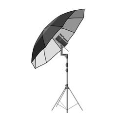 Umbrella for photography icon vector