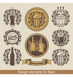 Beer banners vector