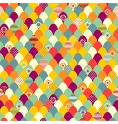 Pattern easter vector