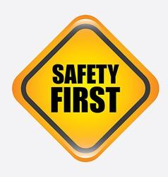 safety design vector image