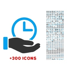 Time service icon vector