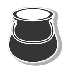 Jug glass icon design vector