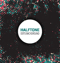 Halftone dots background 2609 vector