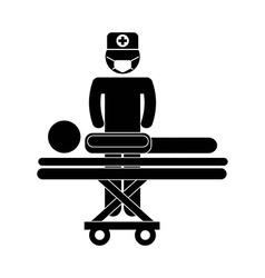 surgeon design vector image
