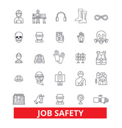 Job safety assurance immunity security vector