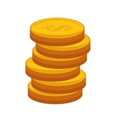 Money cash coins vector