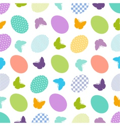 Seamless Easter Pattern vector image