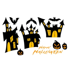 Set for halloween vector image vector image