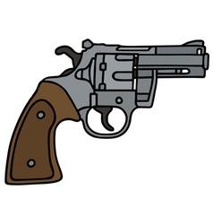 Short revolver vector image vector image