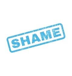 Shame Rubber Stamp vector image