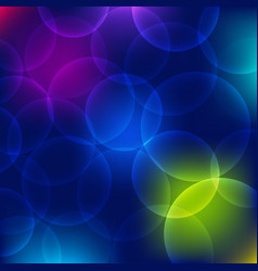 bokeh circle abstract background vector image
