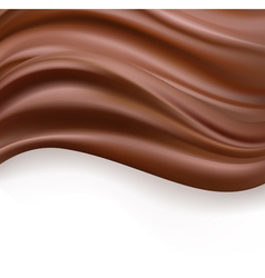 creamy chocolate vector image