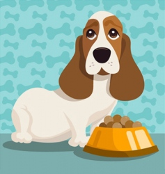 dog illustration vector image