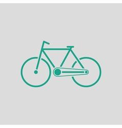 Ecological bike icon vector image vector image
