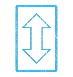 Exchange vertical icon rubber stamp vector