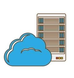 Data hosting optimization application related vector