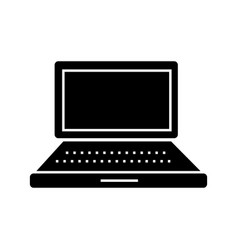 laptop simple icon sign o vector image vector image