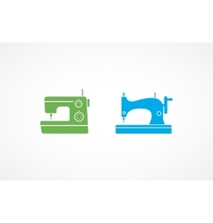 Sewing Machine Icons vector image vector image
