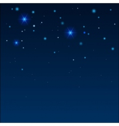 star sky vector image vector image