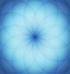 Circle elements with blue background vector image