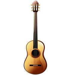 A classical guitar vector