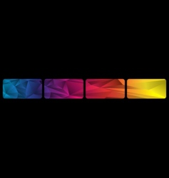 Set spectrum banners vector