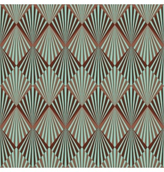 Art Deco style seamless pattern texture vector image