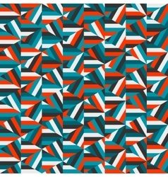 Blue red triangle random stripes geometric vector