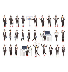 business woman or female office worker dressed in vector image vector image