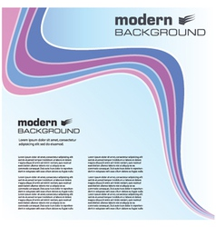 simple modern background vector image vector image