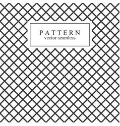 Grid seamless geometric pattern vector