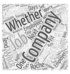 How happy will you be in your next job word cloud vector