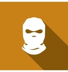 Mask terrorist sign vector