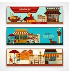 Shops Banner Set vector image vector image