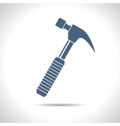 Hammer icon eps10 vector