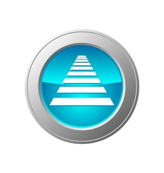 crosswalk button vector image