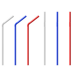 Drinking straw vector