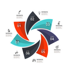 Infographic element vector