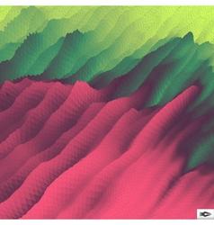 Mosaic abstract polygonal backgroun vector